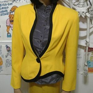 Avant Garde Asymmetrical Blazer